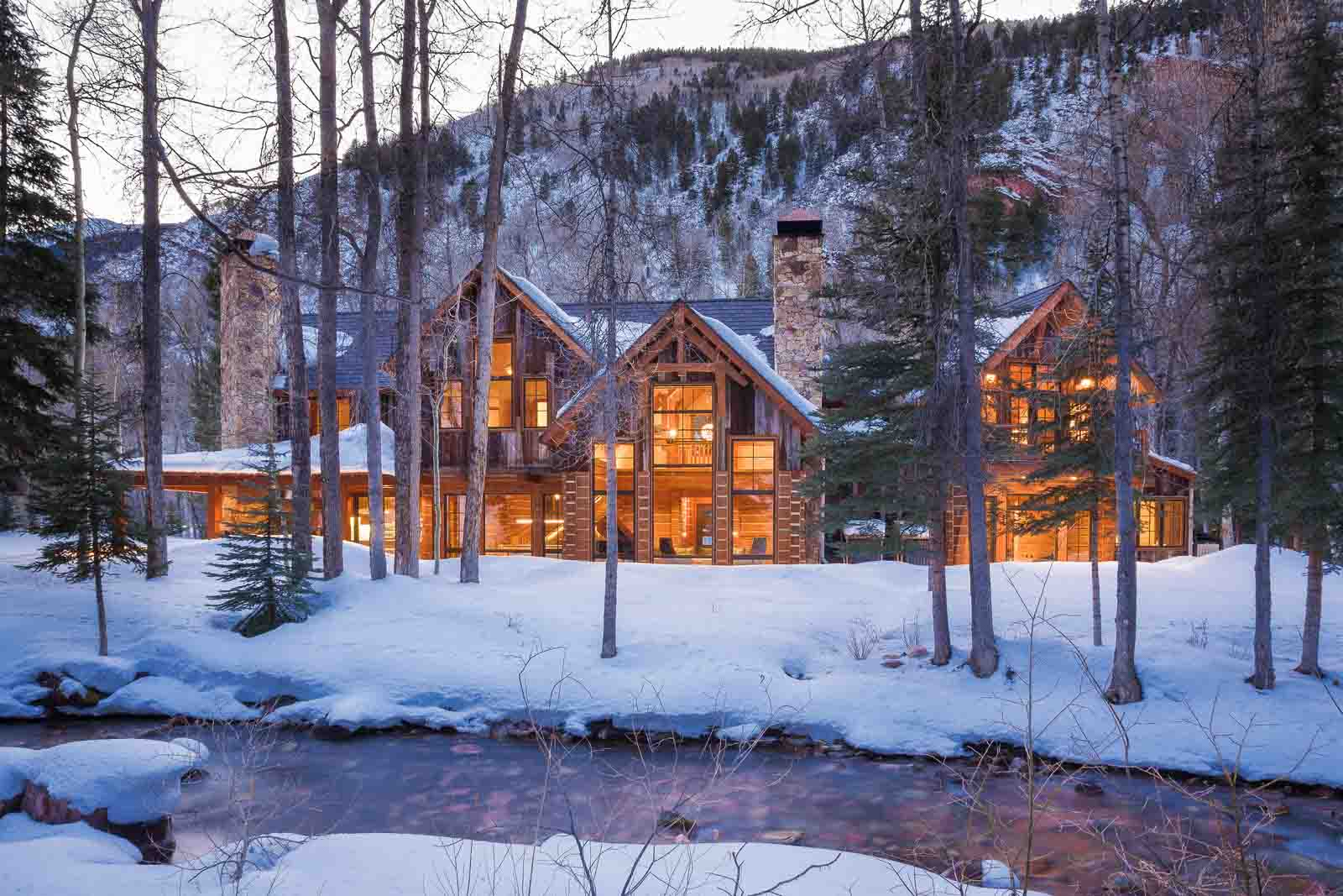 mountain cabin construction aspen