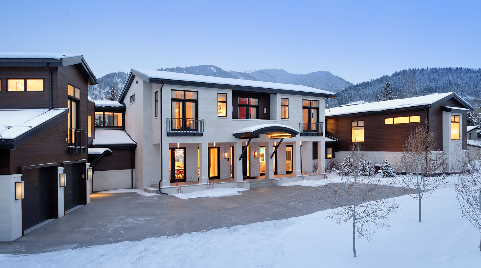 modern home construction aspen
